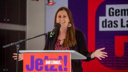 Linken-Spitzenkandidatin Janine Wissler