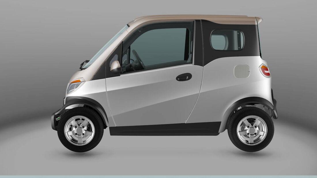 Linzda M3 M4 Elektro Leichtkraftfahrzeug E-Auto China Import