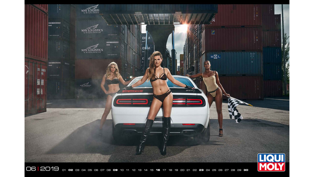 Liqui Moly Girls-Kalender 2019
