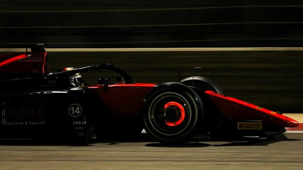 Lirim Zendeli - Formel 2 - Test