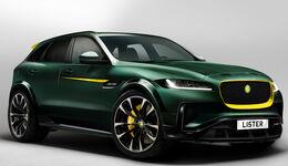 Lister Jaguar F-Pace