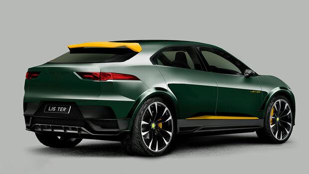 Lister tunt elektrischen Jaguar I-Pace