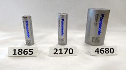 Lithiumionen-Batterien von Panasonic