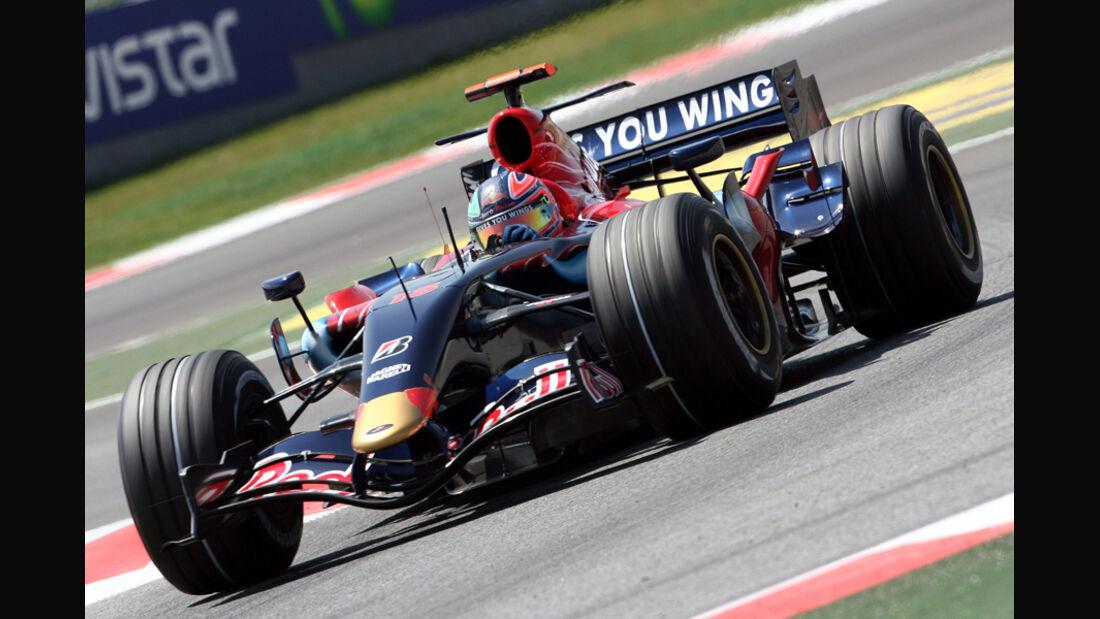 Liuzzi 2007 Toro Rosso GP Spanien