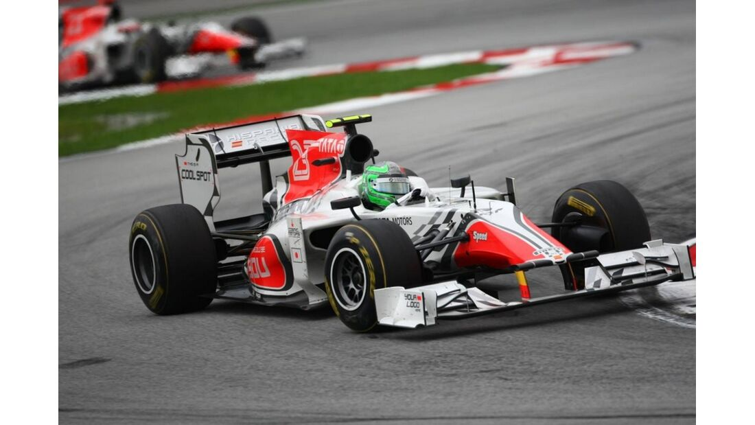 Liuzzi GP Malaysia 2011 Formel 1