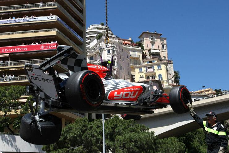 Liuzzi GP Monaco 2011