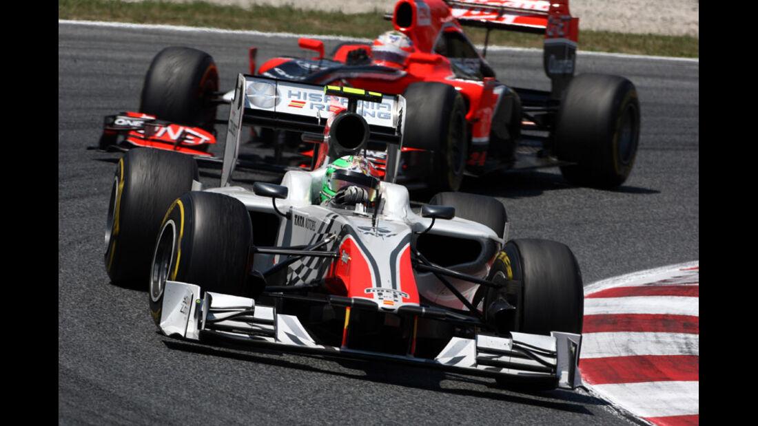 Liuzzi GP Spanien 2011