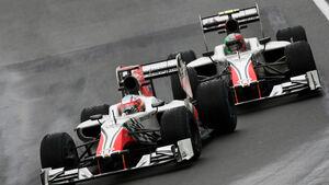 Liuzzi Karthikeyan Hispania GP Kanada 2011