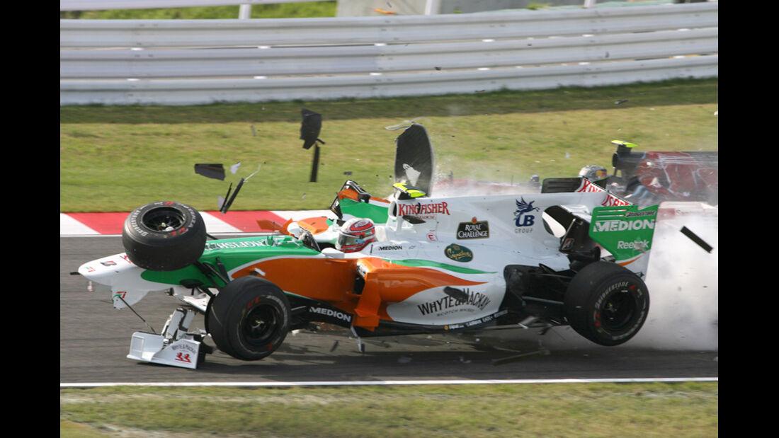 Liuzzi Massa GP Japan