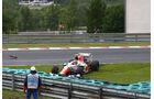 Liuzzi - Noten - GP Ungarn - Formel 1 - 31.7.2011