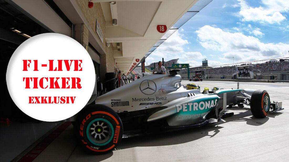 Live-Ticker 2013 F1 Brasilien