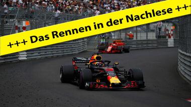 Live-Ticker - GP Monaco 2018 - Rennen
