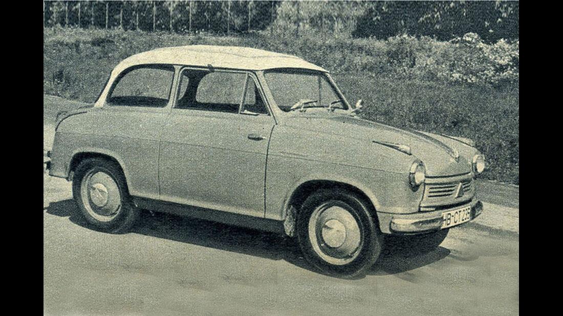 Lloyd, LP, 600, Alexander, IAA 1957