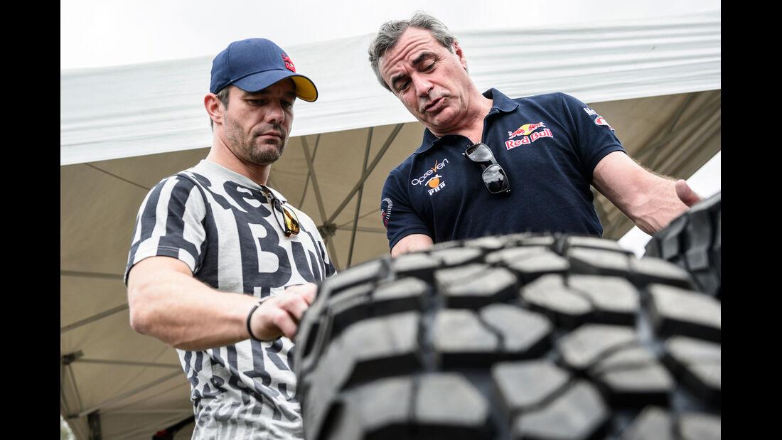 Loeb & Sainz - Dakar 2014