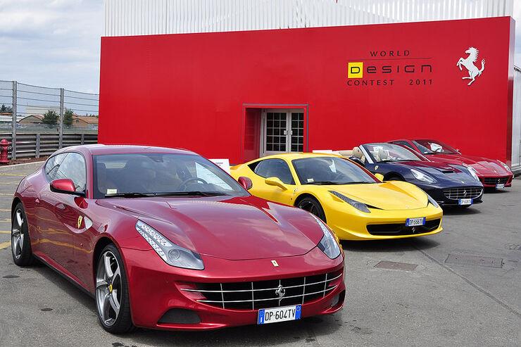 Logo Ferrari World Design Contest 2011