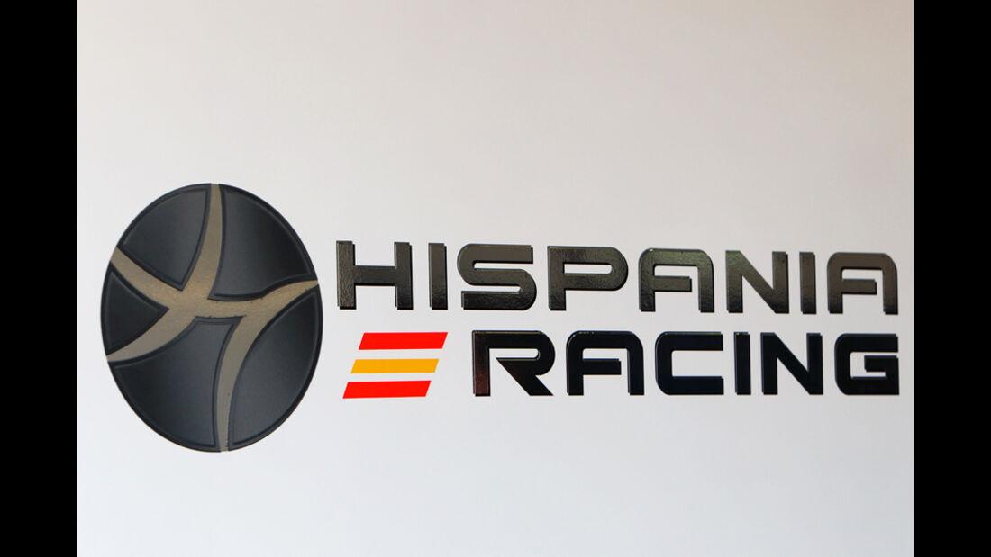 Logo Marussia HRT F1 Hispania Racing Team