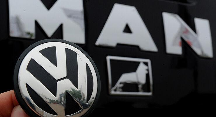 Logo VW MAN LKW