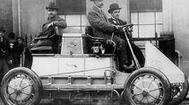 Lohner-Porsche aus dem Jahre 1901 - Erstes Elektroauto mit Allradantrieb