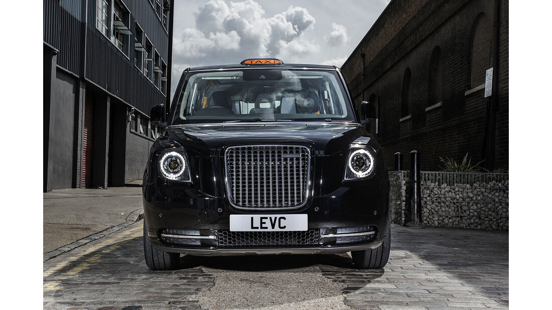 London Taxi Company Electric Black Cab Erlkönig
