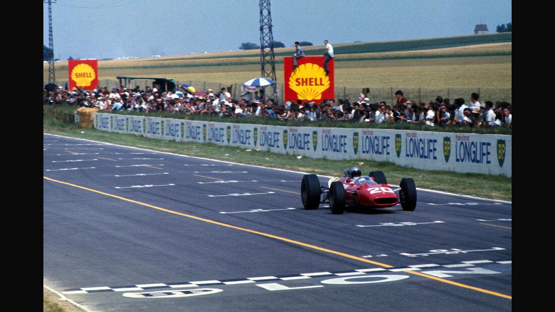 Lorenzo Bandini - Ferrari 312 - Riems 1966