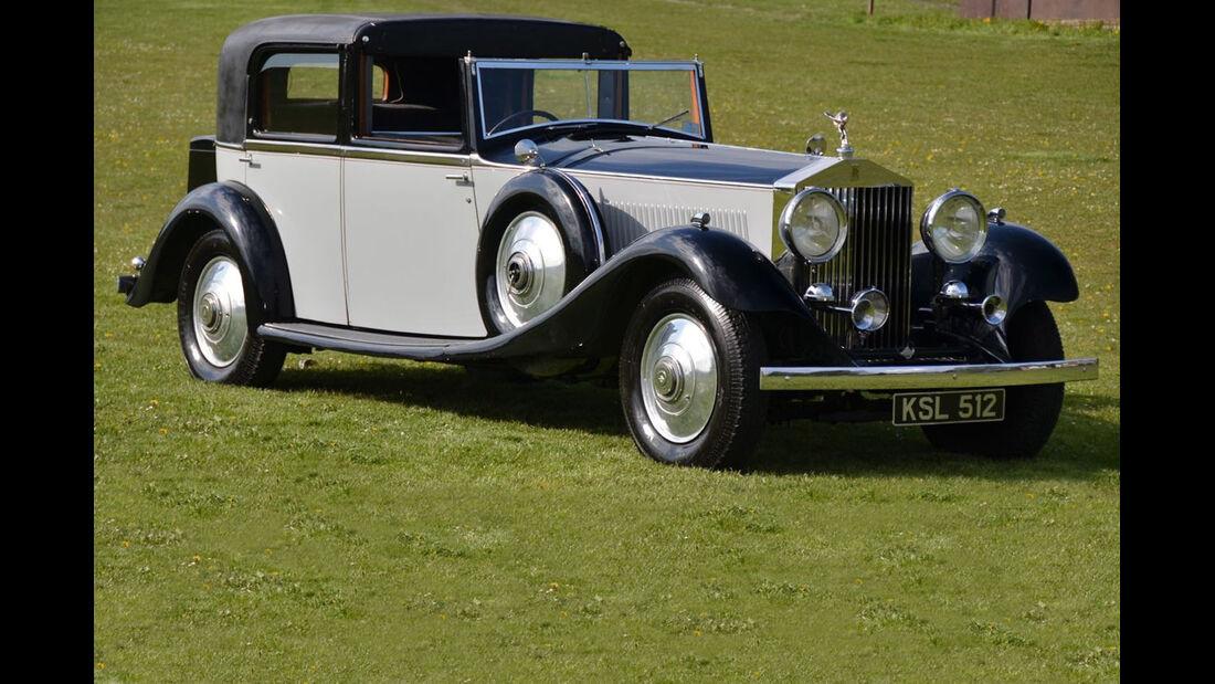 Lot 372: 1933 Rolls-Royce Phantom II Continental Sedanca de Ville