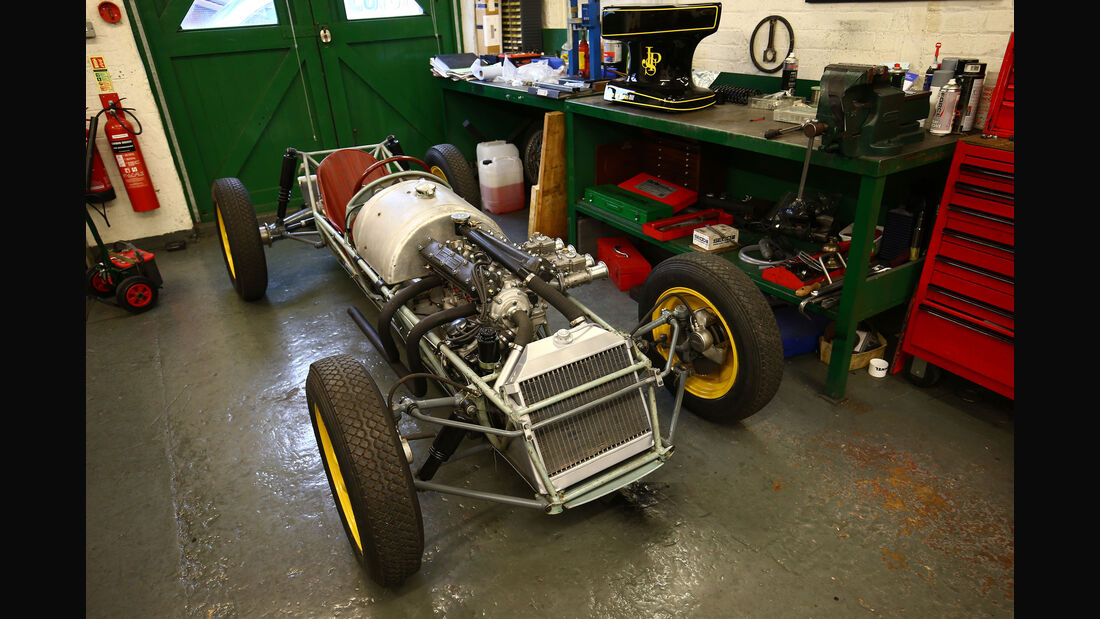 Lotus 12 - Classic Team Lotus - Lotus Workshop - Werkstatt - Hethel - England