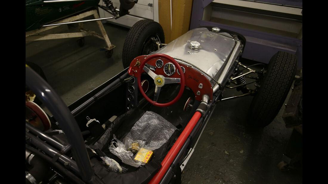 Lotus 18 - Classic Team Lotus - Lotus Workshop - Werkstatt - Hethel - England
