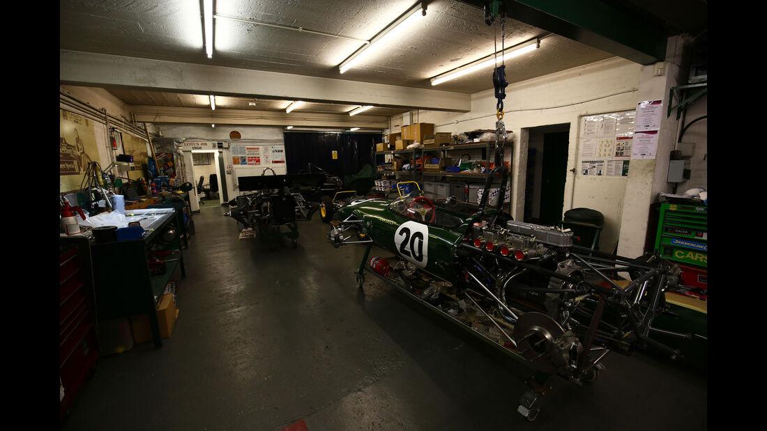 Lotus 20 - Classic Team Lotus - Lotus Workshop - Werkstatt - Hethel - England