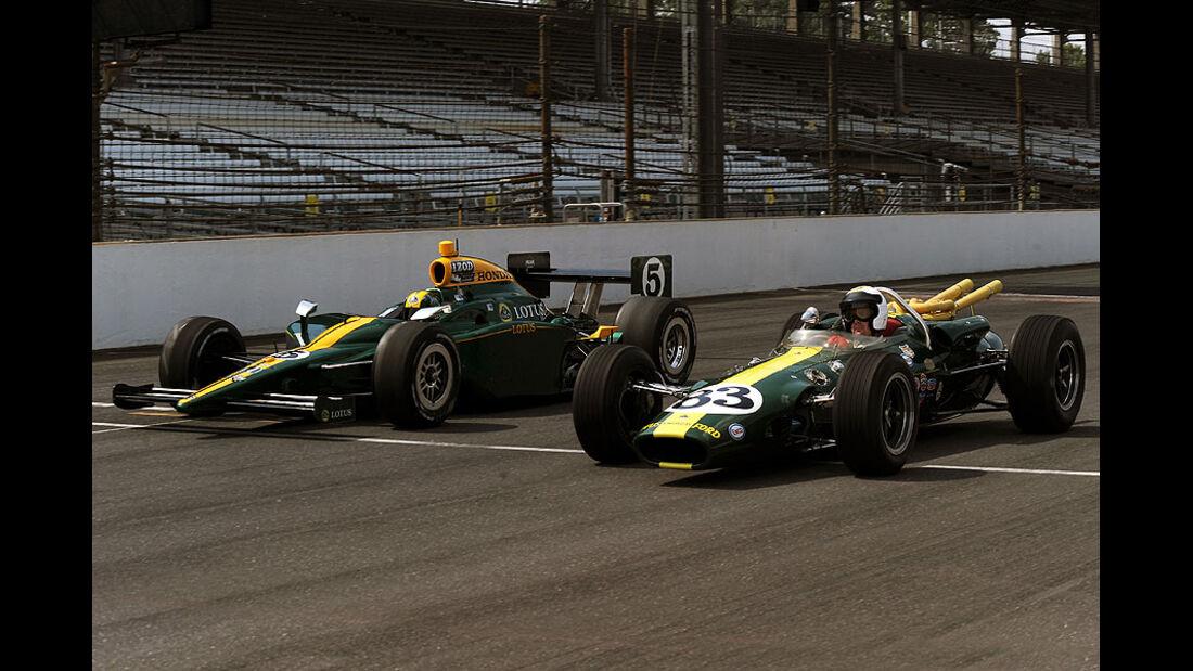 Lotus 2010 IndyCar and Lotus Type 38