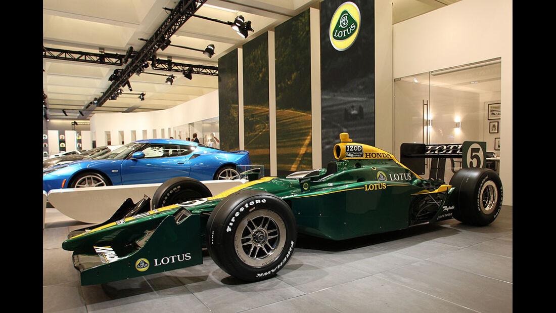Lotus 2010 IndyCar at LA Auto Show