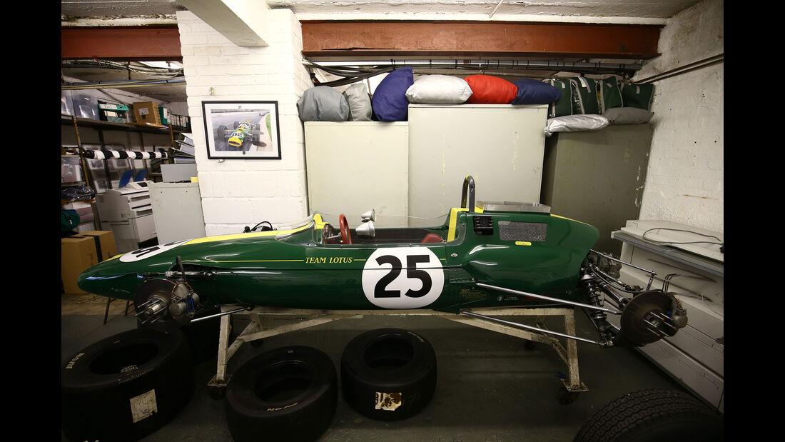 Lotus 25 - Classic Team Lotus - Lotus Workshop - Werkstatt - Hethel - England
