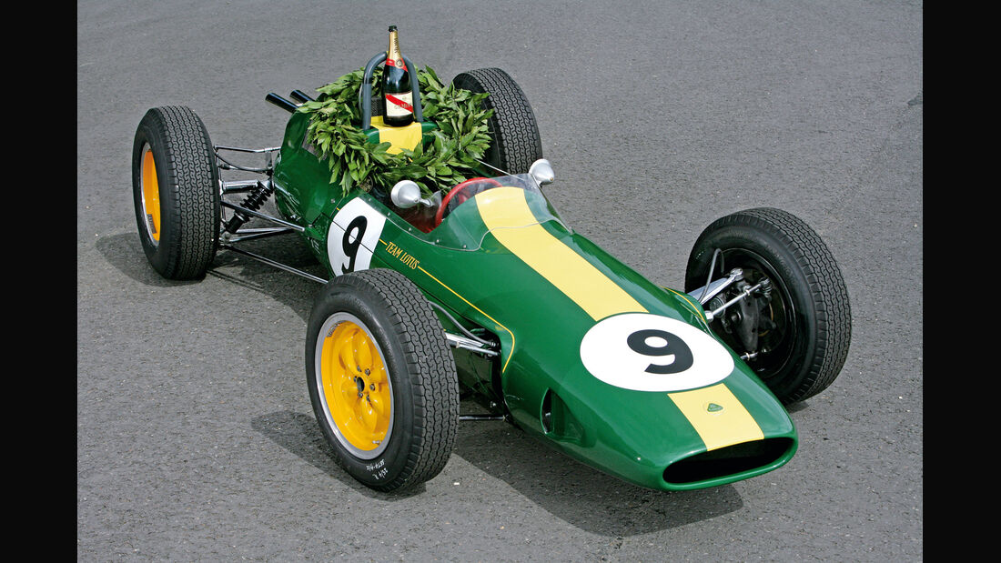 Lotus 25, Frontansicht