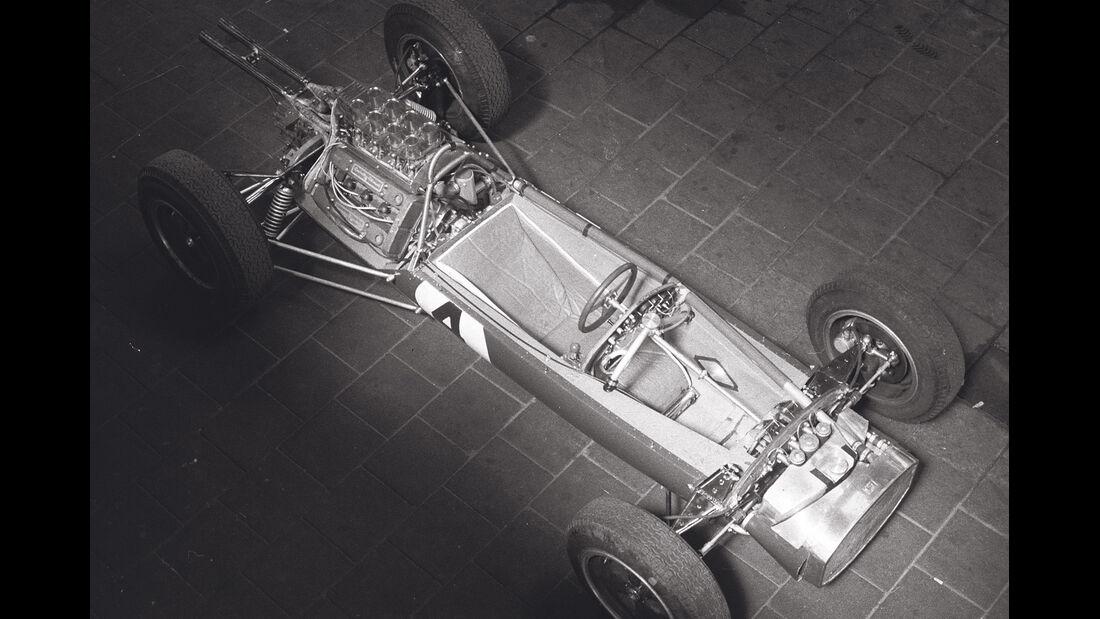 Lotus 25, Rohrrahmen