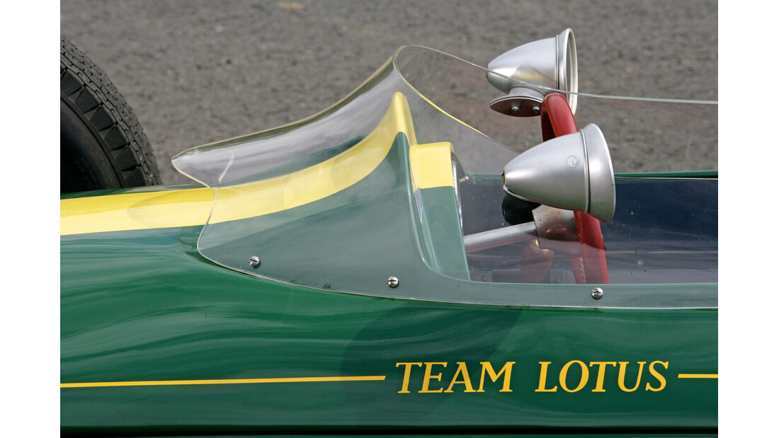 Lotus 25, Seitenspiegel