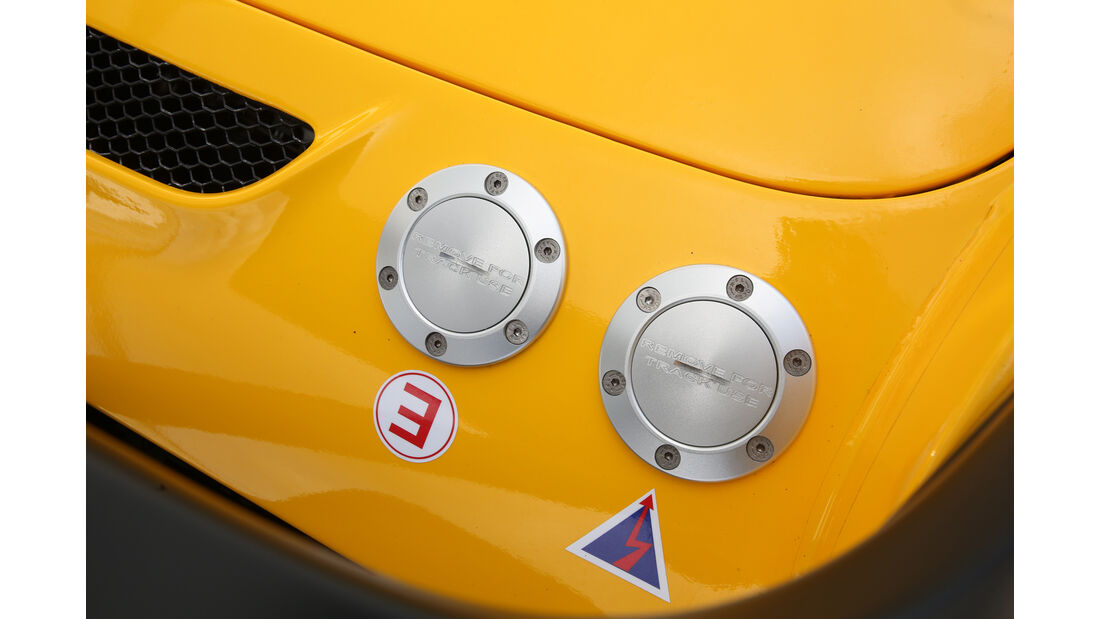 Lotus 3-Eleven, Benzindeckel