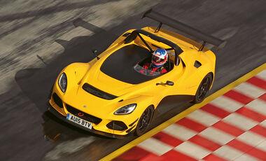 Lotus 3-Eleven, Draufsicht