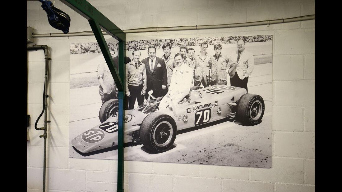 Lotus 56 - Indy 500 1968 - Classic Team Lotus - Lotus Workshop - Werkstatt - Hethel - England