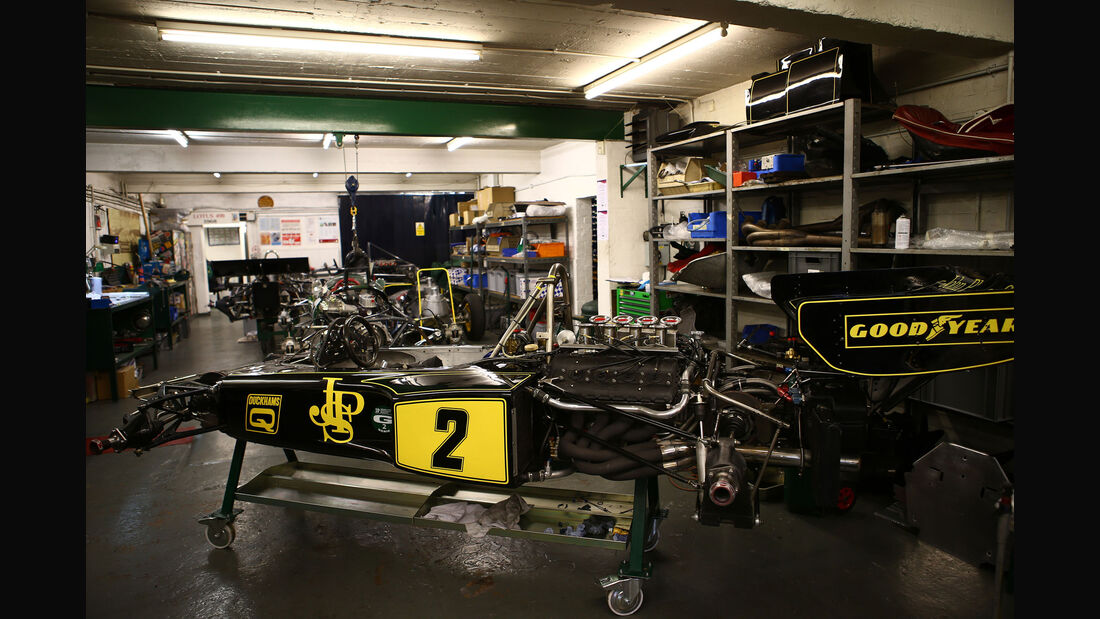 Lotus 72 - Classic Team Lotus - Lotus Workshop - Werkstatt - Hethel - England