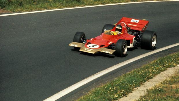 Lotus 72 - Rennwagen