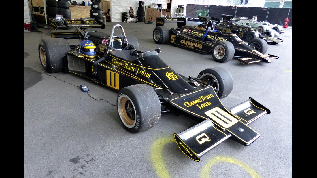 Lotus 76 - Verrückte Formel 1-Ideen