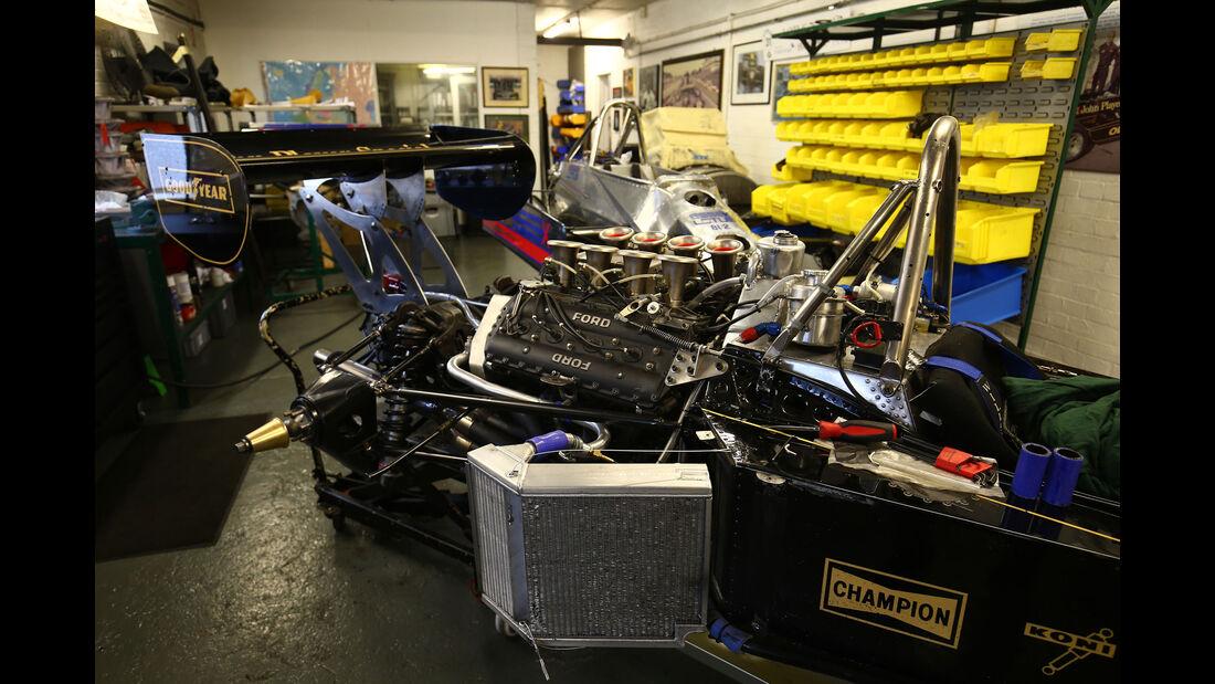 Lotus 77 - Classic Team Lotus - Lotus Workshop - Werkstatt - Hethel - England
