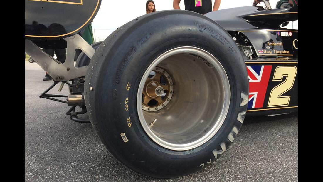 Lotus 77 - F1 Klassiker - Austin - GP USA 2016