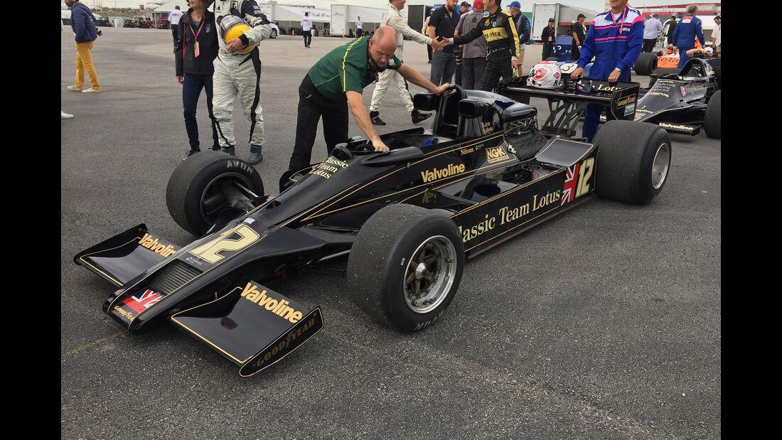 Lotus 78 - F1 Klassiker - Austin - GP USA 2016