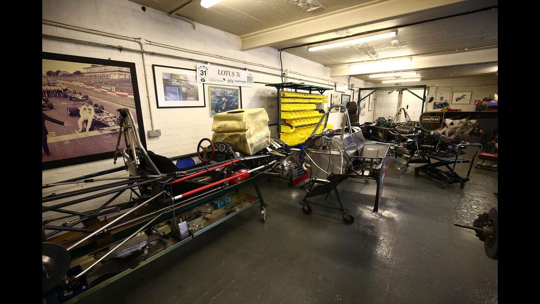 Lotus 81/2 - Classic Team Lotus - Lotus Workshop - Werkstatt - Hethel - England