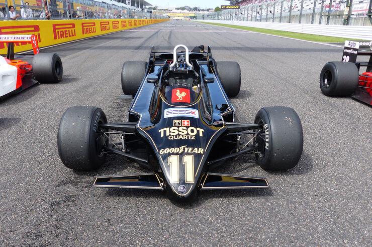 Lotus 88 - F1-Legenden - Suzuka - GP Japan 2015