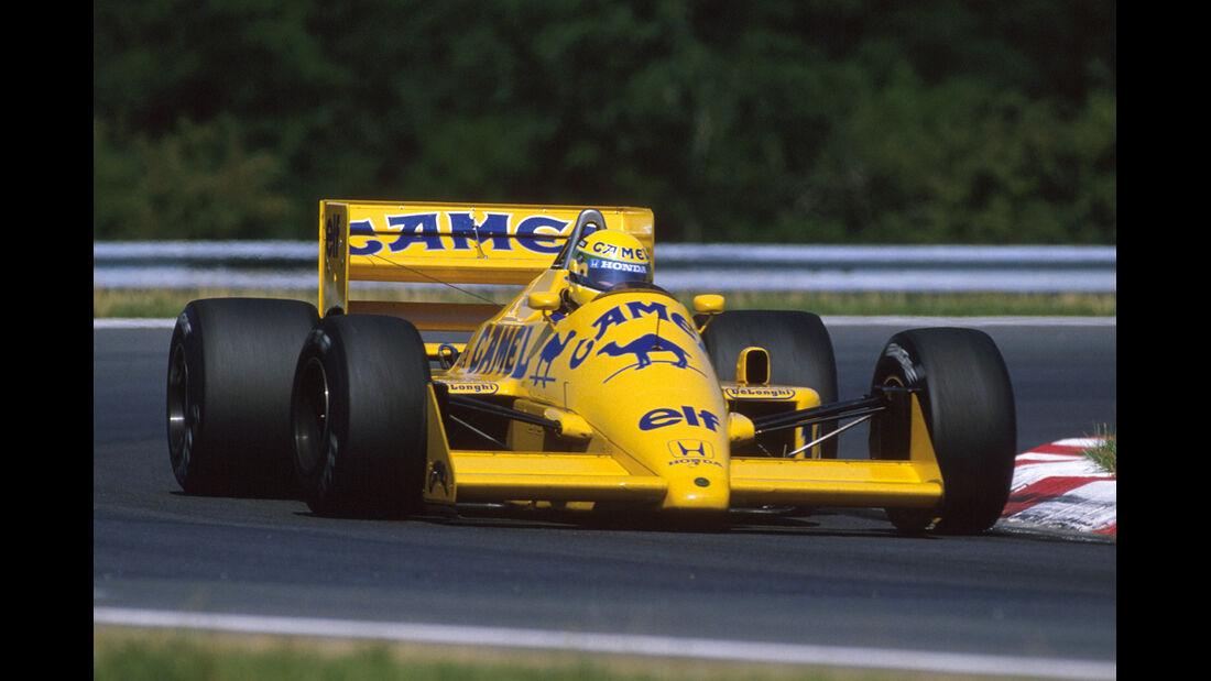 Lotus 99T - Verrückte Formel 1-Ideen