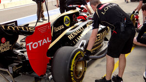 Lotus Auspuff GP Korea 2012