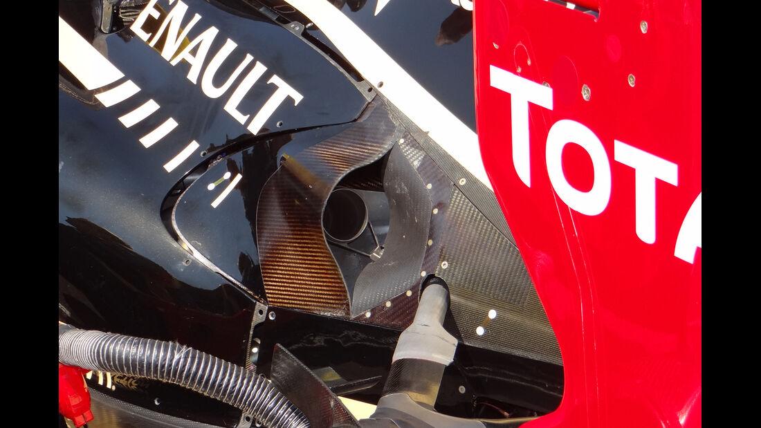Lotus Auspuff GP Ungarn 2012