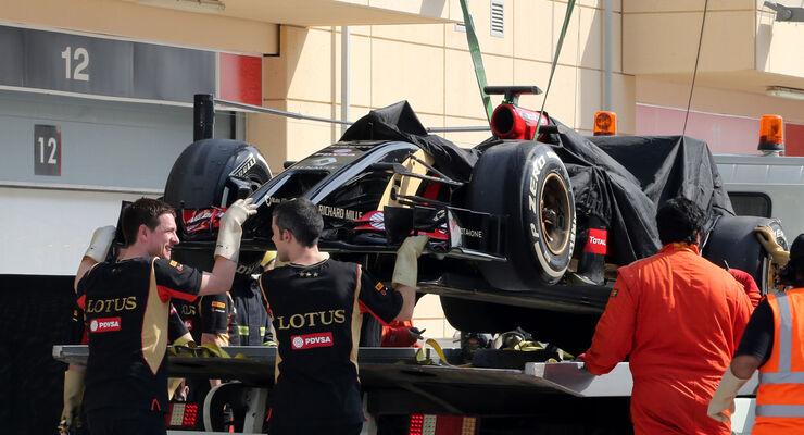 Lotus - Bahrain - Formel 1 - Test - 2014