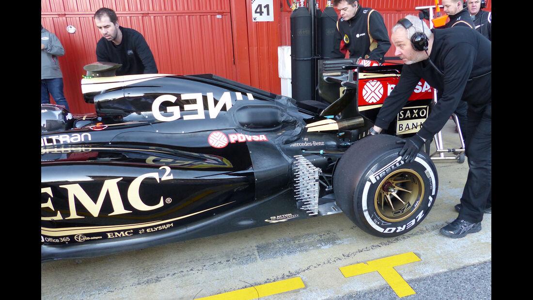 Lotus - Barcelona-Test - Technik - Formel 1 2015